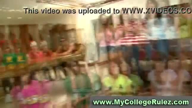 College girls suck cock at a teen sex party