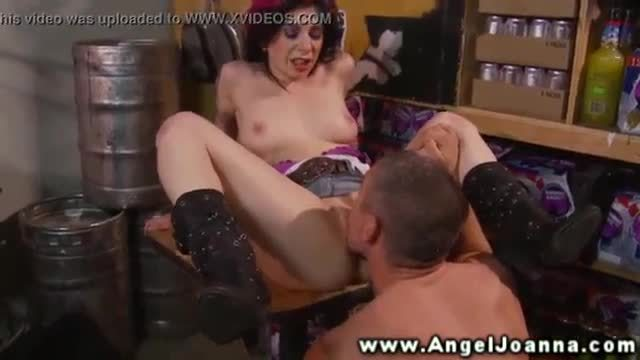 Angel Joanna anal fucked and licked